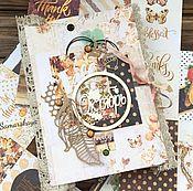Подарки к праздникам ручной работы. Ярмарка Мастеров - ручная работа Осенний альбом для тематических фото. Handmade.