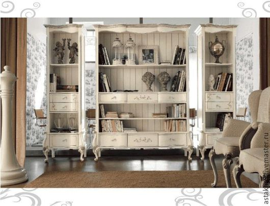 Мебель ручной работы. Ярмарка Мастеров - ручная работа. Купить Шкафы витрины и тумба под телевизор (комплект). Handmade. Шкаф