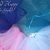 Свадебный салон handmade. Livemaster - original item Bridal veil for bachelorette party (any colors). Handmade.