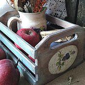 """Для дома и интерьера ручной работы. Ярмарка Мастеров - ручная работа Ящик """"Заросли ежевики"""". Handmade."""