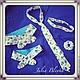Здесь: повязочки для мамы и дочки на проволоке, хорошо держат форму; галстук мужской классический, повязка-ободок, повязочка-цветочек для девочки