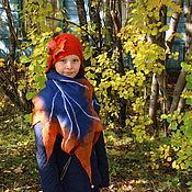 Аксессуары ручной работы. Ярмарка Мастеров - ручная работа Шляпка валяная Autumn is coming. Handmade.