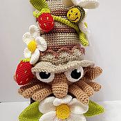 Куклы и игрушки ручной работы. Ярмарка Мастеров - ручная работа Гномик цветочный. Handmade.