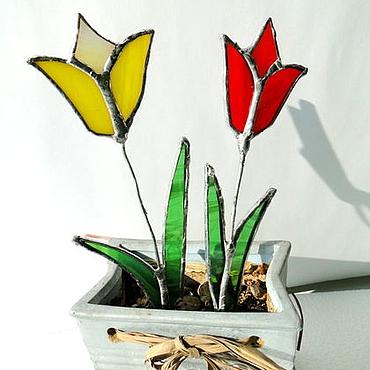 Для дома и интерьера ручной работы. Ярмарка Мастеров - ручная работа Тюльпаны. Handmade.