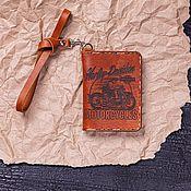 Канцелярские товары handmade. Livemaster - original item Cover for dandy documents. Handmade.