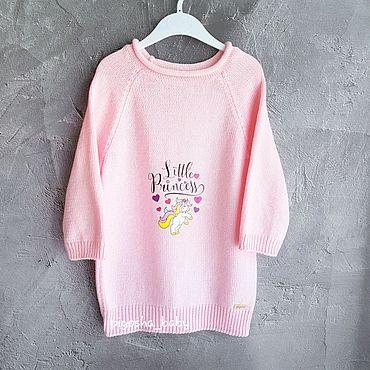 Clothing handmade. Livemaster - original item T-shirt knitted cotton Tanuki collection. Handmade.