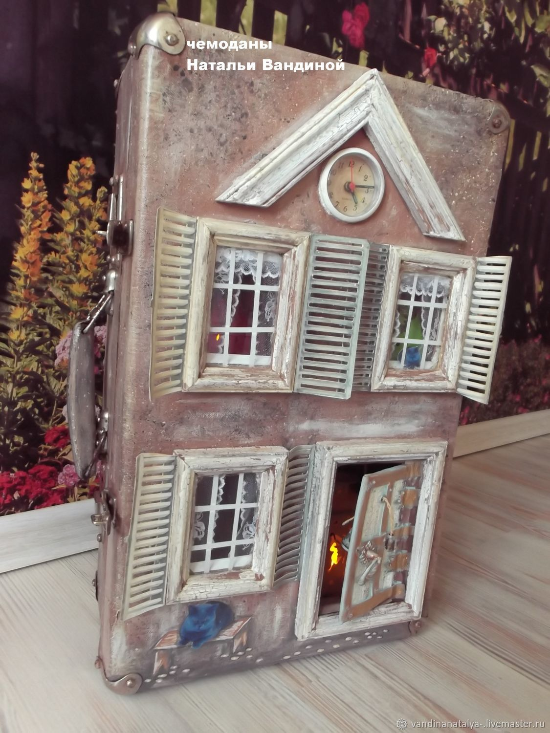 Suitcase with old fairy tales (Dollhouse), Doll houses, Balakovo,  Фото №1