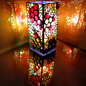 Для дома и интерьера handmade. Livemaster - original item Table bright decorative lamp solar grapes. Handmade.