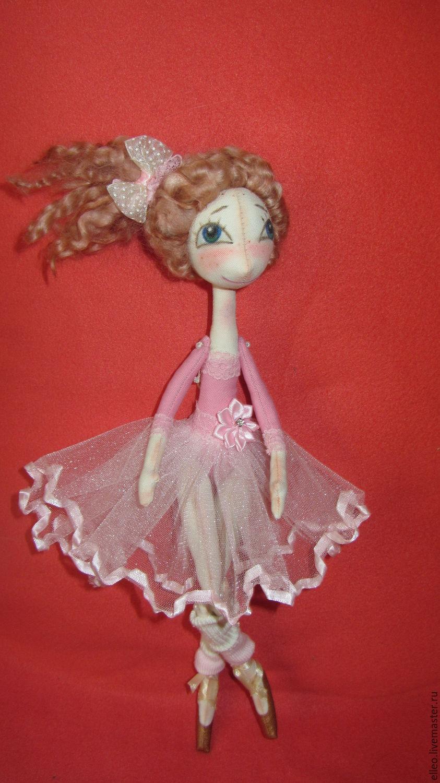 Балерина из бисера своими руками