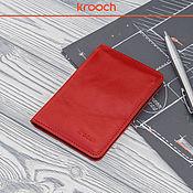 Сумки и аксессуары handmade. Livemaster - original item Wallet for documents. Handmade.