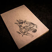 """Блокноты ручной работы. Ярмарка Мастеров - ручная работа Блокнот """"Птицы"""". Handmade."""