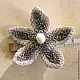 Starfish brooch made of beads and pearls. Brooches. Marina Lambrozo leather and stone. My Livemaster. Фото №4