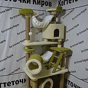 Аксессуары для питомцев ручной работы. Ярмарка Мастеров - ручная работа Комплекс для кошек. Handmade.