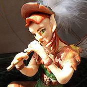 """Куклы и игрушки ручной работы. Ярмарка Мастеров - ручная работа кукла-эльф """"Октябрьская мелодия"""". Handmade."""