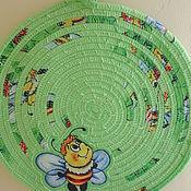 """Для дома и интерьера ручной работы. Ярмарка Мастеров - ручная работа Набор для кухни """"Пчёлки"""". Handmade."""