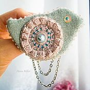 Украшения handmade. Livemaster - original item Brooch in the style of boho Bird spring. Handmade.
