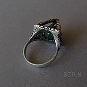 Украшения handmade. Livemaster - original item Silver ring with pyramid. Handmade.