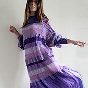 """Одежда ручной работы. Ярмарка Мастеров - ручная работа Платье в стиле бохо """" Аромат сирени"""". Handmade."""