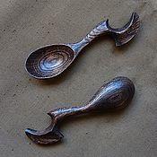 Посуда ручной работы. Ярмарка Мастеров - ручная работа Мерная ложка из сухостойного дуба. Handmade.