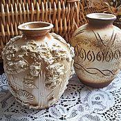 Винтаж ручной работы. Ярмарка Мастеров - ручная работа Керамические вазочки. Handmade.
