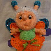 Куклы и игрушки ручной работы. Ярмарка Мастеров - ручная работа Бабочка Алинка. Handmade.