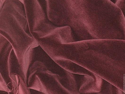 Реставрация. Ярмарка Мастеров - ручная работа. Купить винтажный бархат. цвет бордовый. Handmade. Бордовый, винтажные ткани