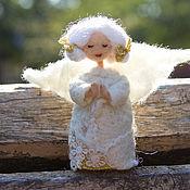 Куклы и игрушки ручной работы. Ярмарка Мастеров - ручная работа Ангел валяная игрушка. Handmade.