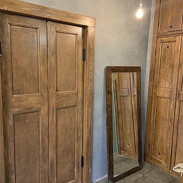 Для дома и интерьера ручной работы. Ярмарка Мастеров - ручная работа Двери двойные межкомнатные ЛОФТ. Handmade.