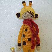Куклы и игрушки ручной работы. Ярмарка Мастеров - ручная работа Жирафик  от  lALYLALA. Handmade.