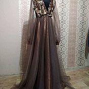 """Одежда ручной работы. Ярмарка Мастеров - ручная работа Платье """" Горький Шоколад"""". Handmade."""