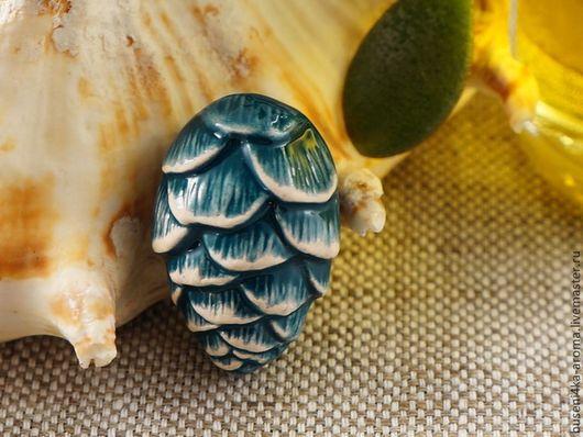 Для украшений ручной работы. Ярмарка Мастеров - ручная работа. Купить Аромакулон керамический №11 (морской). Handmade. Аромакулон, ароматерапия