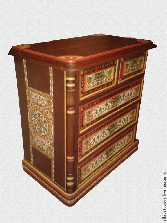 Vintage dresser painted 'Griffin', Dressers, Zaraysk,  Фото №1