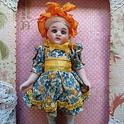 Винтаж ручной работы. Ярмарка Мастеров - ручная работа Куколка антикварная 11 см. Handmade.