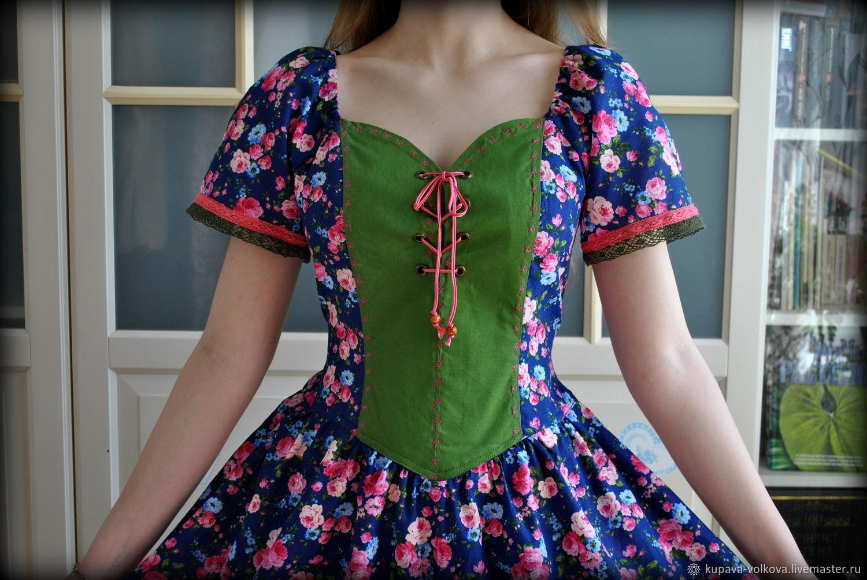 Boho summer Mirabel dress made of cotton, Dresses, Anapa,  Фото №1