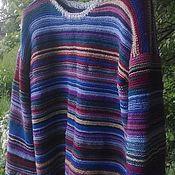 Одежда ручной работы. Ярмарка Мастеров - ручная работа Джемпер женский вязанный. Handmade.