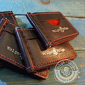 Сумки и аксессуары handmade. Livemaster - original item Money clip and card 2. Handmade.