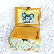 Для дома и интерьера handmade. Livemaster - original item Box My feelings beyond words....... Handmade.