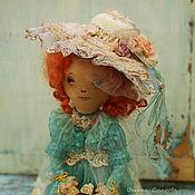 Куклы и игрушки ручной работы. Ярмарка Мастеров - ручная работа Дама с вуалью. Handmade.