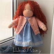 Куклы и игрушки ручной работы. Ярмарка Мастеров - ручная работа Вальдорфская кукла, 36 см. Handmade.