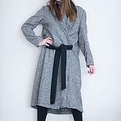 Одежда handmade. Livemaster - original item Warm, long cashmere coat-CT0034WL. Handmade.