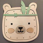 Элементы интерьера ручной работы. Ярмарка Мастеров - ручная работа Ночник Teddy boy. Handmade.