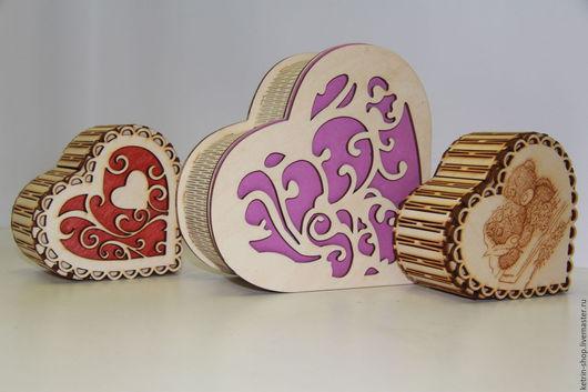 Подарочные наборы ручной работы. Ярмарка Мастеров - ручная работа. Купить Шкатулка сувенирная - Сердце. Handmade. Серый, подарок девушке