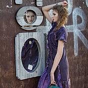 """Одежда ручной работы. Ярмарка Мастеров - ручная работа Войлочное платье """"Felt. Street style"""". Образ № 2. Handmade."""