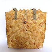 Сумки и аксессуары handmade. Livemaster - original item Stylish and practical bag from birch Bark. Handmade.