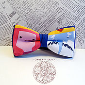 Аксессуары handmade. Livemaster - original item bow tie princess bubblegum and ice king/ time adventu. Handmade.
