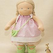 Мягкие игрушки ручной работы. Ярмарка Мастеров - ручная работа Кукла для Ренаты, 40 см. Handmade.