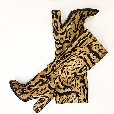 Обувь ручной работы. Ярмарка Мастеров - ручная работа Сапоги тигровые. Handmade.