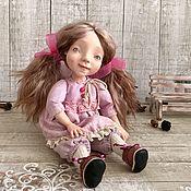 Куклы и пупсы ручной работы. Ярмарка Мастеров - ручная работа Авторская кукла Снежка. Handmade.
