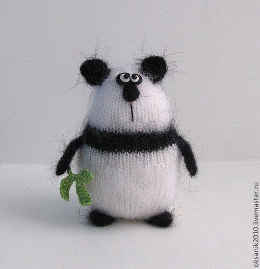 Игрушки животные, ручной работы. Ярмарка Мастеров - ручная работа. Купить Панда. Handmade. Чёрно-белый, панда, подарок, белый