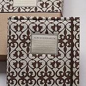 Канцелярские товары handmade. Livemaster - original item Album for a herbarium Ornaments (A4, 40 plants). Handmade.